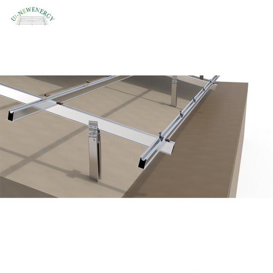 large scale solar panel racking systems