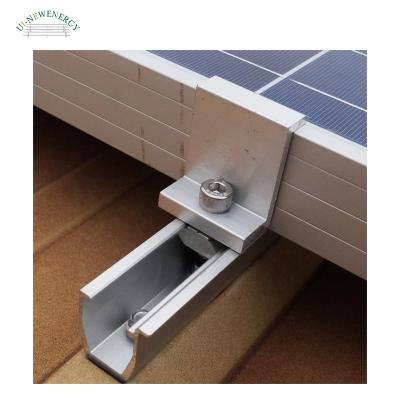 Trapezoidal Metal Roof Solar Panel Mounting
