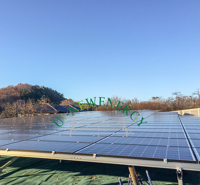 2019.01 Japan 150kW Ground Solar Mounting System