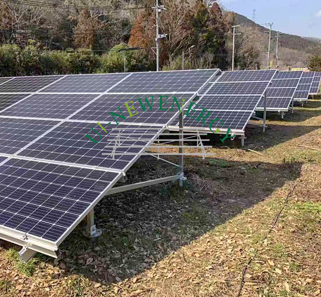 2019.03 Japan 108kW Ground Solar Mounting System